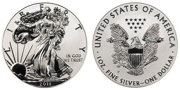 2011 P Reverse Proof American Silver Eagle