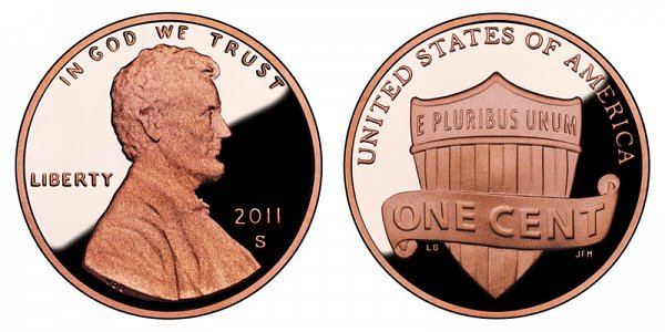 2011 S Lincoln Shield Cent Penny