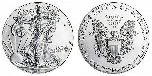 2011 Bullion American Silver Eagle