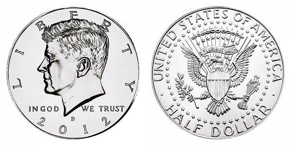 2012 D Kennedy Half Dollar