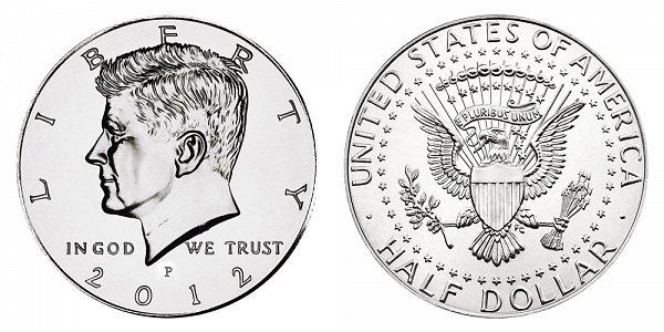 2012 P Kennedy Half Dollar