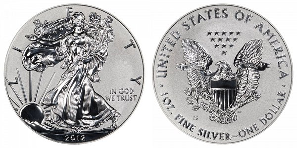 2012 S Reverse Proof American Silver Eagle