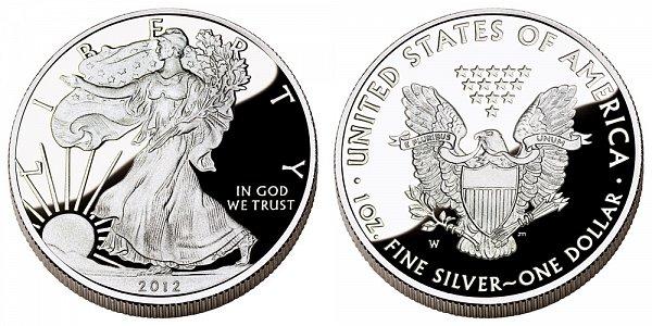 2012 W Proof American Silver Eagle