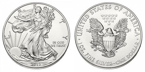 2013 Bullion American Silver Eagle