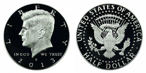 2013 S Kennedy Half Dollar Proof