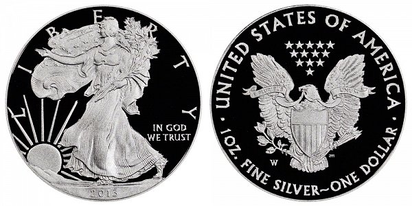 2013 W Proof American Silver Eagle