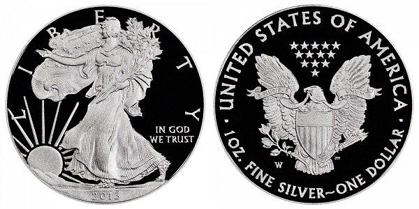2013 W Proof American Silver Eagle