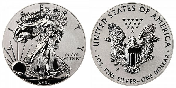 2013 W Reverse Proof American Silver Eagle