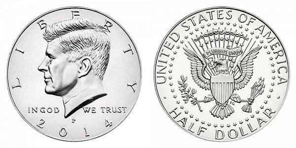 2014 P Kennedy Half Dollar