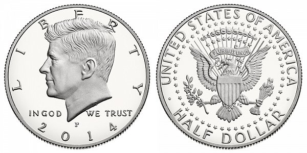 2014 P Proof Kennedy Half Dollar
