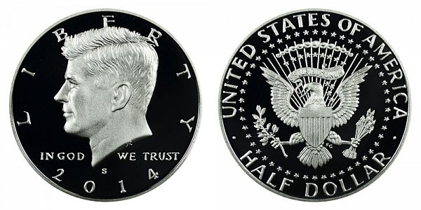 2014 S Kennedy Half Dollar Proof