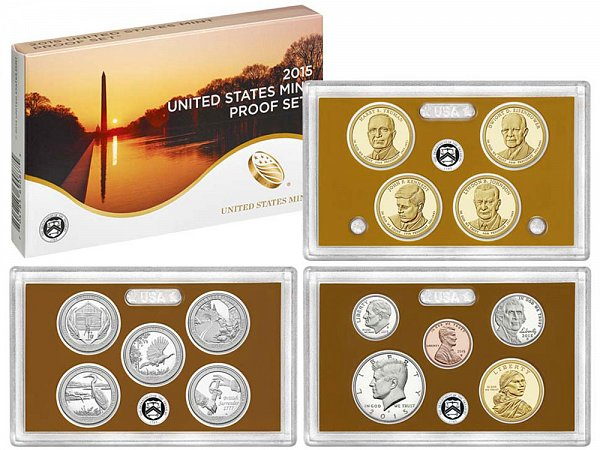 2015-S United States Proof Set - 14 Piece Set - All Coins