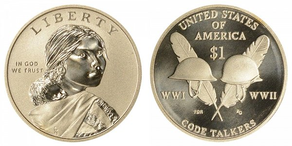 2016-S Enhanced Finish Uncirculated Sacagawea Dollar
