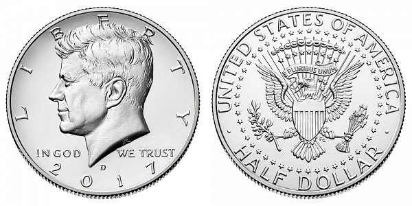 2017 D Kennedy Half Dollar