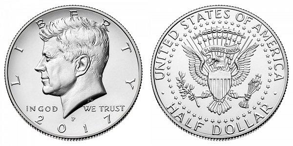 2017 P Kennedy Half Dollar