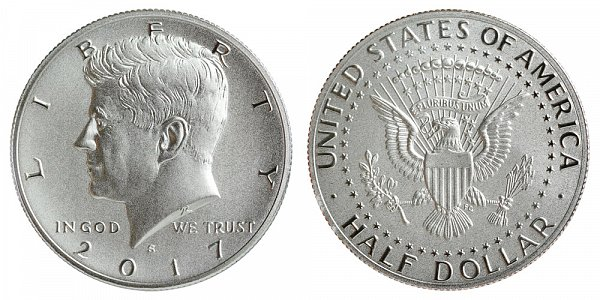 2017 S Proof Kennedy Half Dollar