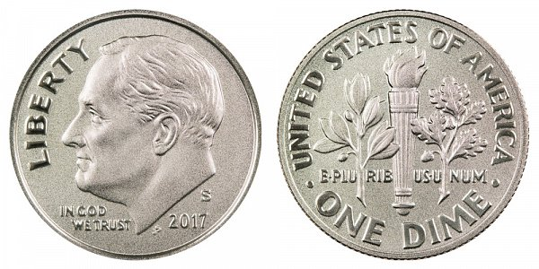 2017 S Enhanced Uncirculated Roosevelt Dime