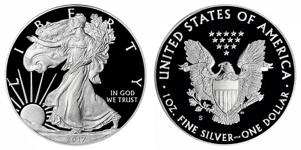 2017 S Proof American Silver Eagle