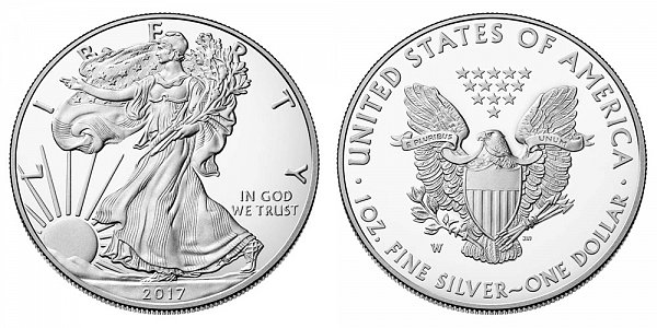 2017 W Proof American Silver Eagle