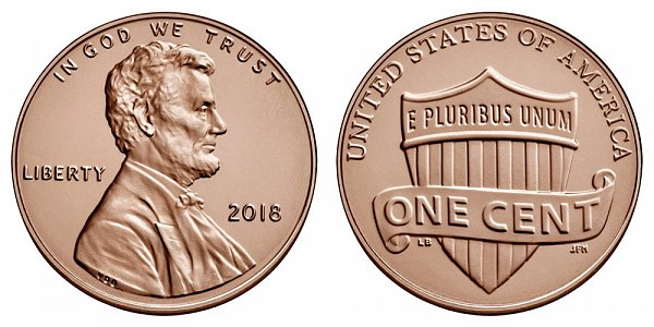2018 P Lincoln Shield Cent Penny