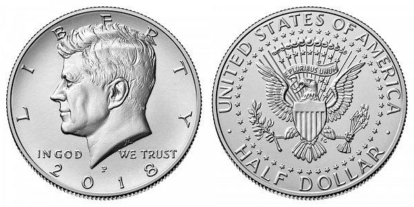 2018 P Kennedy Half Dollar