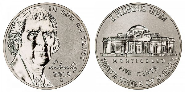 2017 S Reverse Proof Jefferson Nickel