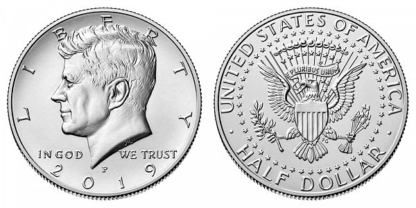2019 P Kennedy Half Dollar