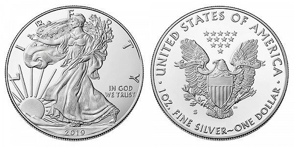 2019 S Proof American Silver Eagle