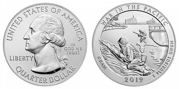 2019 War In The Pacific 5 Ounce Bullion Coin - 5 oz Silver