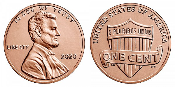 2020 P Lincoln Shield Cent Penny