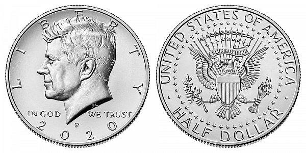 2020 P Kennedy Half Dollar