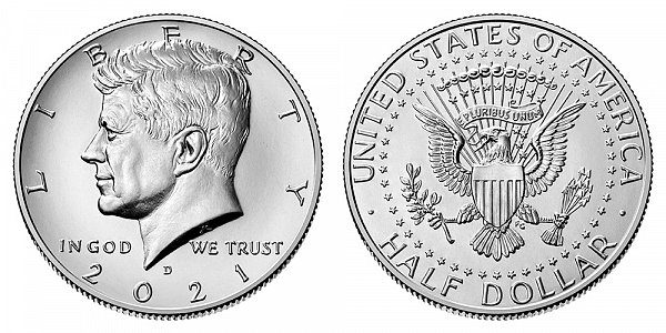 2021 D Kennedy Half Dollar