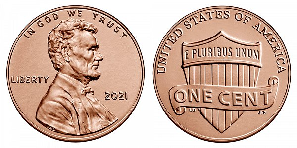 2021 P Lincoln Shield Cent Penny