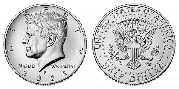 2021 P Kennedy Half Dollar