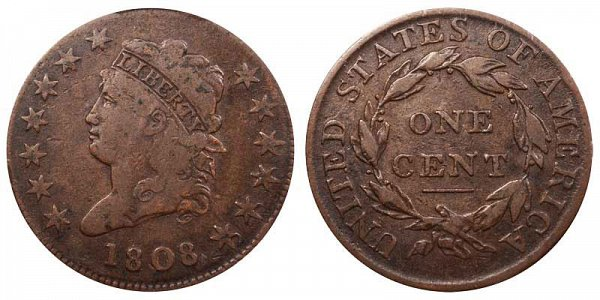 Classic Head Liberty Large Cent by John Reich