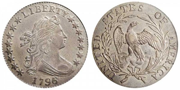 Robert Scot - Draped Bust Dime, Small Eagle Reverse Design