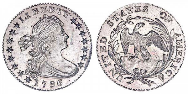 Robert Scot - Draped Bust Half Dime, Small Eagle Reverse Design