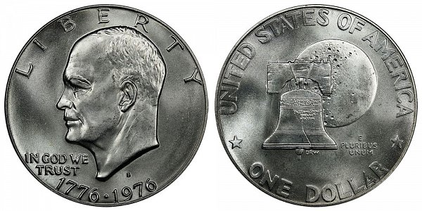 Eisenhower Dollars Bicentennial Design US Coin
