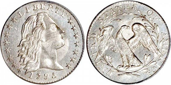 Robert Scot - Flowing Hair Half Dime Design