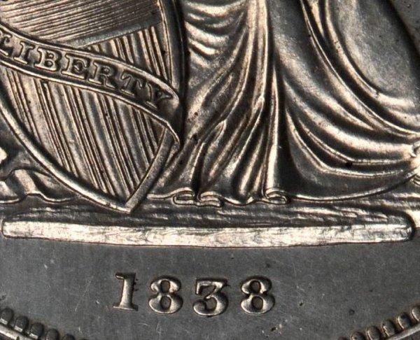 Gobrecht Dollar - C. GOBRECHT. F. Ommitted