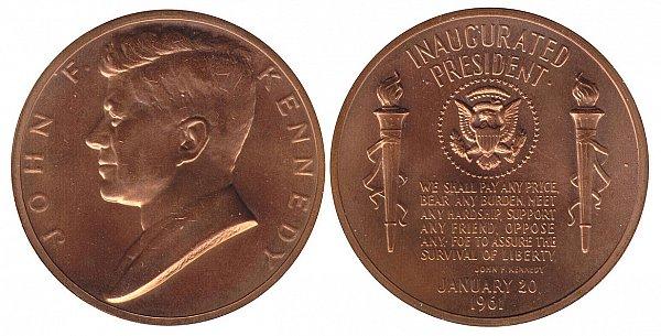 Kennedy Presidential Inauguration Medal