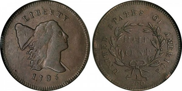 Robert Scot - Liberty Cap Half Cent, Liberty Facing Right Design