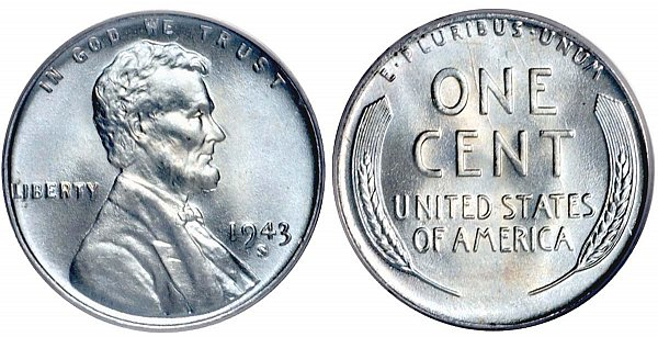 Lincoln Wheat Cent Small Cents Steel Composite Penny US Coin