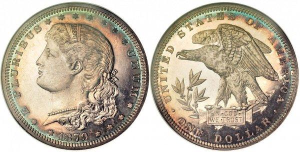 Morgan's Schoolgirl Dollar Pattern Coin