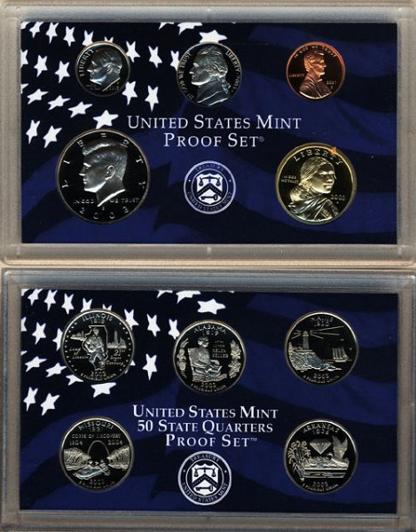 Proof Sets Mirror-Like Cameo Coins US Coin