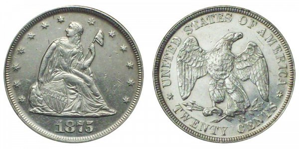 1875 Twenty Cent Piece