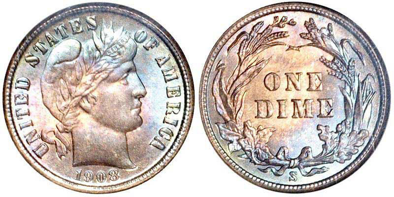 Barber Dimes Us Coin Prices And Values