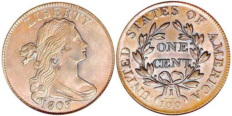 Draped Bust Large Cents - Price Charts & Coin Values