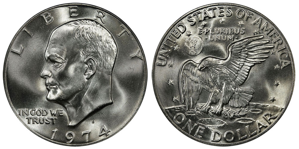 Eisenhower Dollars Us Coin Prices And Values