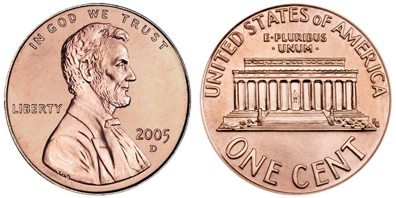 Lincoln Memorial Cent Small Cents Us Coin Prices And Values